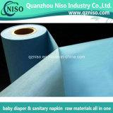 De volledige Gelamineerde PE Grondstoffen van Backsheet van de Film Niet-geweven Voor de Luier van de Baby/Volwassen Luier