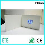 Высшего качества, 2,8-дюймовый ЖК-дисплей для открыток видео