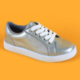 Neue Ankunft, die klassische silberne scherzt sich schnüren oben, Turnschuh-Schuhe