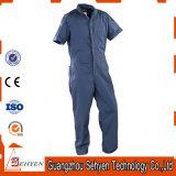 Combinaison protectrice fonctionnelle antiacide de vêtements de travail de tissu de polyester de coton