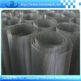 アルミニウム版によって拡大される金属の網
