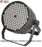 Phasenkonzert-warmes Weiß oder RGBW einzelner Farbe 120PCS 3W LED NENNWERT können LED-Stadiums-Licht