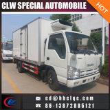 KoelBestelwagen van het Vervoer van de Koeling van de Vrachtwagen van het Vervoer van Isuzu 6ton de Gekoelde