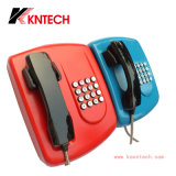 Telefono resistente all'intemperie di servizio del credito del telefono pubblico Knzd-04