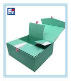 Caja de encargo de la cubierta de papel para el regalo y la joyería del embalaje