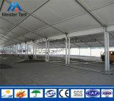 Tienda de aluminio blanca de la exposición del precio de fábrica para la venta