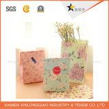 Saco de papel Eco-Friendly da venda quente com punho do algodão