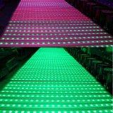 4in1 RGBW 옥외 24*10W LED 벽 세척 빛