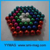 Magnetische Ballen van uitstekende kwaliteit 5mm het Vastgestelde Stuk speelgoed van het Bureau van het Gebied van de Magneet
