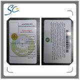 Cartão quente do PVC da folha de carimbo do Sell quente