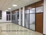 Partition moderne de bureau gâchant la cloison de séparation en verre pour la taille personnalisée