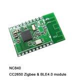 Cc2650 6lowpan, energía baja de Bluetooth, RF4ce, módulo de Zigbee