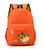 カスタム卸し売り幼稚園の子供の袋の漫画大きい容量のかわいいナイロン動物の生徒のランドセル