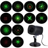 遠隔コントローラ段階の装飾のための小型LEDのレーザー光線