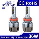 고성능 기관자전차는 LED 헤드라이트 옥수수 속 칩을 분해한다