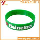 Wristband su ordinazione del silicone di alta qualità per il regalo promozionale
