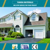 Estructura de acero, material y quiosco, casa de protector, chalet, cabina del panel de emparedado