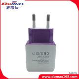 Cargador de viaje del teléfono móvil enchufe de la UE Adaptador USB 2