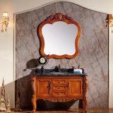 Het moderne Kabinet van de Badkamers van de Waren van de Verf Stevige Houten Sanitaire (GSP14-009)