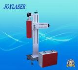 Bewegliche Metall-und Nichtmetall-Fliegen-Faser-Laser-Markierungs-Maschine