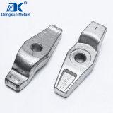 La placcatura d'acciaio dello zinco ha forgiato le parti usate per il contenitore