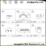 Het Ontwerp van Heatsink van de Uitdrijving van de Profielen van het Aluminium van het Bouwmateriaal