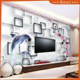 Оптовая симпатичная картина маслом дельфина Номером на холстине для комнаты детей