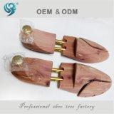Promotion en bois américaine de cèdre d'arbre de chaussure