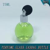 Sphère 75ml à bouchon à vis de la pompe de pulvérisation Gasbag verre bouteille de parfum