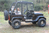 250cc Negro Mini Quad Jeep para Adultos