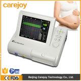 Monitoração Fetal da frequência cardíaca de 8.4 mulheres gravidas Fetal do monitor da polegada