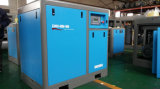 Industrielles Becken kombinierter riemengetriebener Schrauben-Luftverdichter
