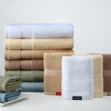 Toalhas de hotel de algodão de alta qualidade em preço promocional (DPF2440)