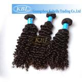 Gut tief lockige brasilianische Haar-Webart (KBL-BH-CW)