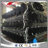 Rundes schwarzes Stahlrohr des Kohlenstoff-ERW