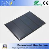 pila solare a resina epossidica policristallina del silicone 12V 1.5W di 115X85mm
