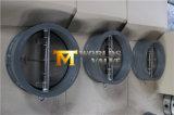 Тип задерживающий клапан бабочки вафли нержавеющей стали CF8 с ISO одобренным Wras Ce