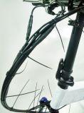 Vélo pliable à manivelle E avec cadre en alliage d'aluminium de 20 pouces