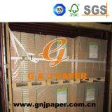 Bonne fluidité feuille de papier bond blanc non couché fabriqué en Chine