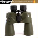 El color verde Esdy 10X50 impermeabiliza los prismáticos