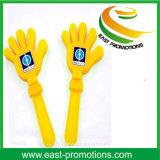"""12 """" valvole di plastica della mano per la promozione con il marchio stampabile"""