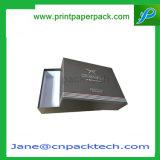 Caja superior e inferior de encargo Caja determinada de las cajas Caja de papel