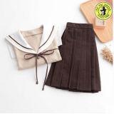 Vestito giapponese primario dall'uniforme scolastico della fabbrica della Cina