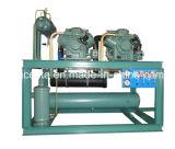 Bitzer Semi-Hermetic 피스톤 압축기를 가진 물에 의하여 냉각되는 압축 단위