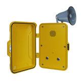 Телефон громкого диктора, телефон вандала упорный, для телефона зоны индустрии непредвиденный