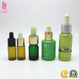 熱い販売の小型小さいガラス化粧品の点滴器が付いている必要なひげの血清の油壷