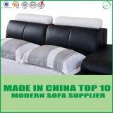寝室のための現代柔らかい革様式のベッド
