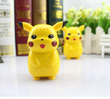 Portable ir Cartoon Pokemon Pikachu Li-ion Banco de potencia de 5000mAh