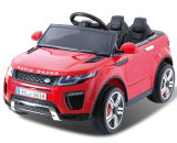 Giro elettrico dei capretti poco costosi sul giocattolo dell'automobile con due sedi