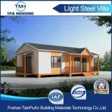 Estructura de acero de la luz de la Villa de diseño modular Home casa prefabricada